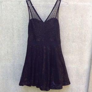 EXPRESS Women's Size XS Black Formal Dress